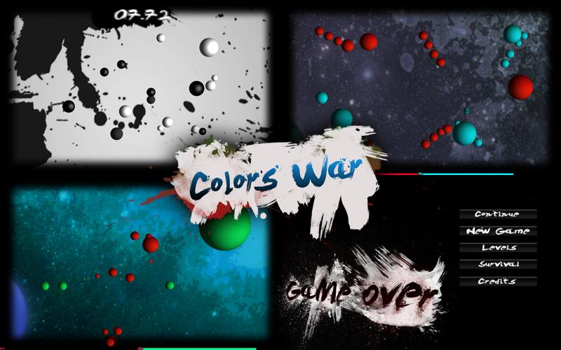 Colors War | The Global Game Jam